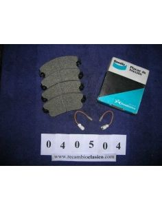 freno y embrague Cubre pedales Simca 1000-1200