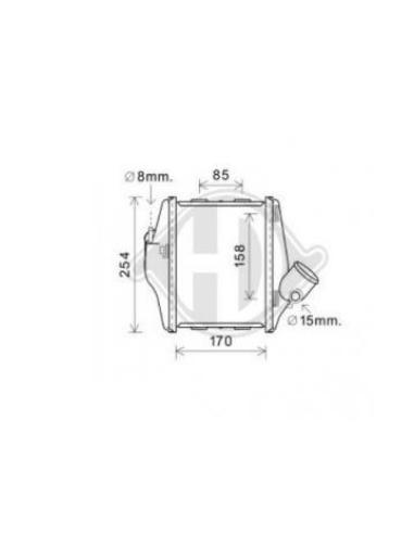 Comprar Radiador de aire de admisión SMART FORTWO II A 451 501