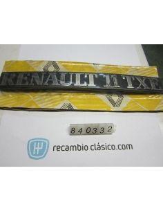 Anagrama insignia Renault...