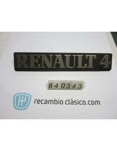 Anagrama insignia Renault R4