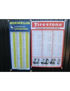 Carteles Michelin + Firestone