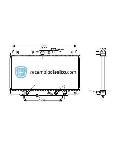Comprar Radiador refrigeración HONDA Prelude V 2.0i 16v / 2.2i