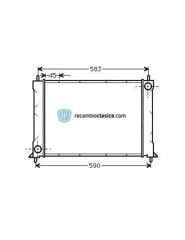Comprar Radiador refrigeración HONDA CONCERTO 89-95 online