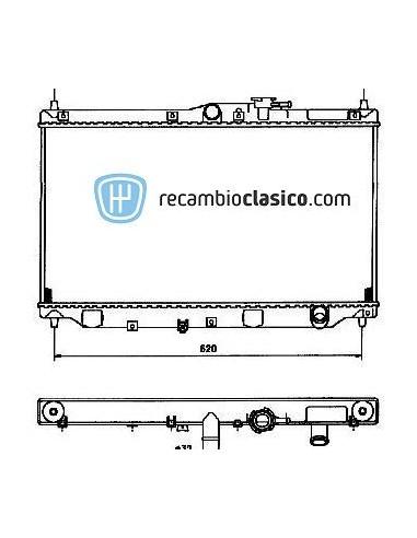 Comprar Radiador refrigeración HONDA Accord 1.8/2.0 89-98 online