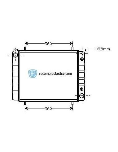 Comprar Radiador refrigeración LAND ROVER Discovery 2.5 TDI