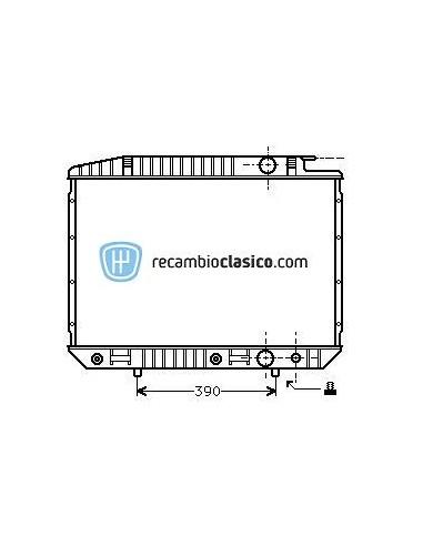 Comprar Radiador refrigeración MERCEDES W126 380/420/500/560