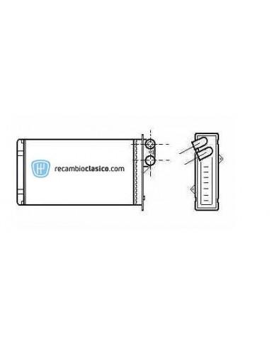 Comprar radiador de calefacción RENAULT Safrane I 92-96 /
