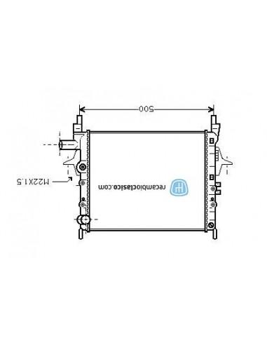 Comprar Radiador refrigeración RENAULT Twingo 96- online