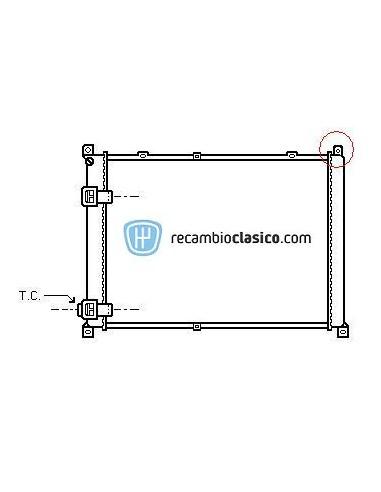 Comprar Radiador refrigeración RENAULT SAFRANE 2.1TD/2.5TD AC