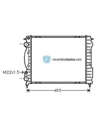 Comprar Radiador refrigeración RENAULT CLIO I 1.2/1.4