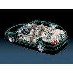 BMW E39 CARROCERIA E INTERIOR