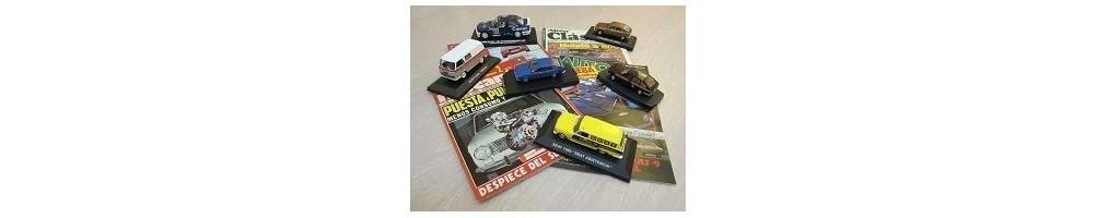 miniaturas coches clasicos, revista automovil, revista motor clasico, revista coches clásicos