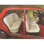 SEAT 124 CARROCERIA E INTERIOR