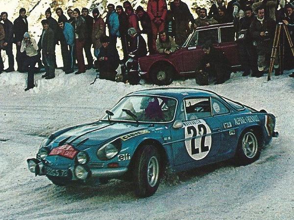 Medio Siglo Alpine Renault Monte Carlo