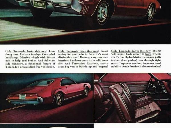 Oldsmobile Toronado: Un coupé fuera de serie